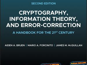 Cryptography, Information Theory and Error-Correction